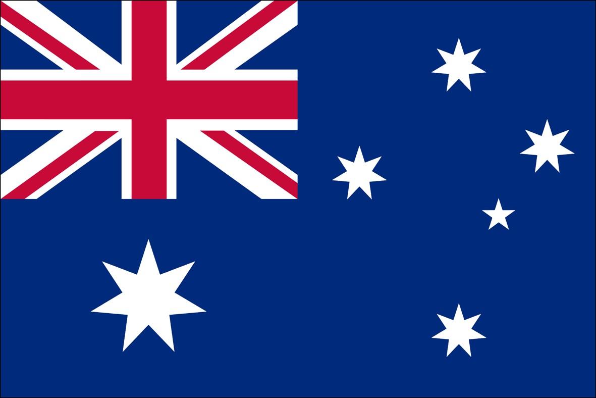 Dit is de vlag van australië
